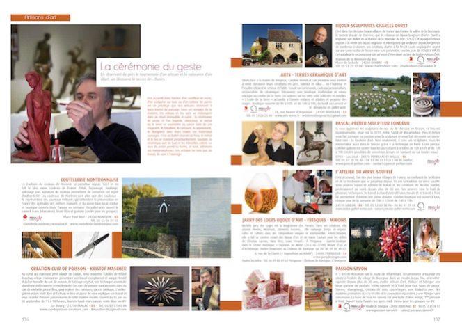Cliquez sur l'image pour consulter le cahier Artisans d'art en format PDF