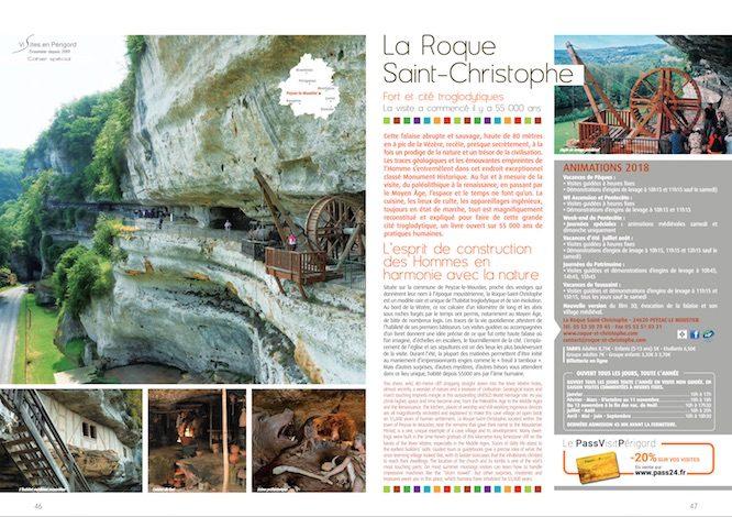 Cliquez sur l'image pour consulter le cahier spécial Sites en Périgord en format PDF