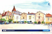 Présentation du carnet de voyage Sur les traces des illustres en Périgord