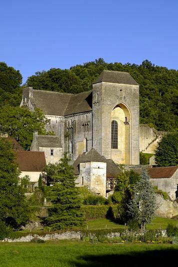 Abbaye de Saint-Amand de Coly, cadre du 29e festival du Périgord noir (photo Bernard Dupuy)