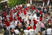 35e Foire aux vins de Sigoulès avec la banda In Vino Veritas samedi 17 et dimanche 18 juillet