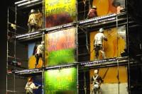 Page Blanche – Chroniques enluminées par la Cie Lucamoros  jeudi 2 et vendredi 3 août au musée Vésuna à 22h30 dans le Festival Mimos 2012 © Philippe  Gisselbrecht