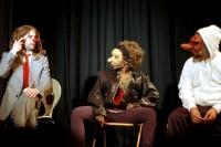 Masques & nez le lundi 5 août, Jardin des Enfeus de Sarlat à 21h45 en cloture du Festival des Jeux du Théâtre -  Crédit photos : Ghislain d'Orglandes