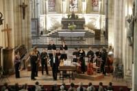 Concert d'ouverture du 12e festival Itinéraire baroque avec l'ensemble la Risonanza jeudi 25 juillet, abbaye de Brantôme à 20h30