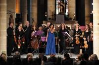 Magali Léger & l'ensemble Rosasolis vendredi 9 août, abbaye de Saint-Avit-Sénieur à 21h dans le festival Eté musical en Bergerac