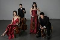 The Parker quartet mardi 30 juillet, grange de Lanquais à 21h  dans le Festival Eté musical en Bergerac