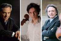 Le pianiste Michel Dalberto invite ses amis musiciens Edgar Moreau et Gérard Caussé dimanche 18 août, église de Saint-Léon-sur-Vézère à 21h dans le festival du Périgord noir