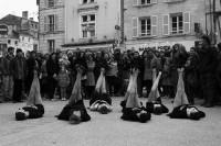 « Dis-le moi » par la Cie Mastoc Production mercredi 31 juillet, Place du Coderc à Périgueux – Festival Mimos 2013 - photo Thophane Gillois