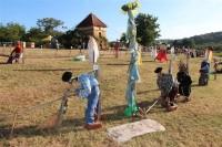 Concours d'épouvantails dimanche 28 juillet pour le 15e Festival des épouvantails de Meyrals