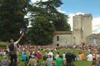 13e Itinérance médiévale en val de Dropt dimanche 4 août, bastide médiévale d'Eymet