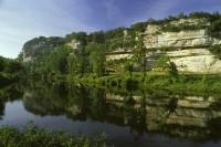 Présentation d'un film d'animation 3D à la Roque-Saint-Christophe retraçant l'histoire surprenante de cette forteresse troglodytique à l'occasion des journées du patrimoine 2013 en Dordogne Périgord