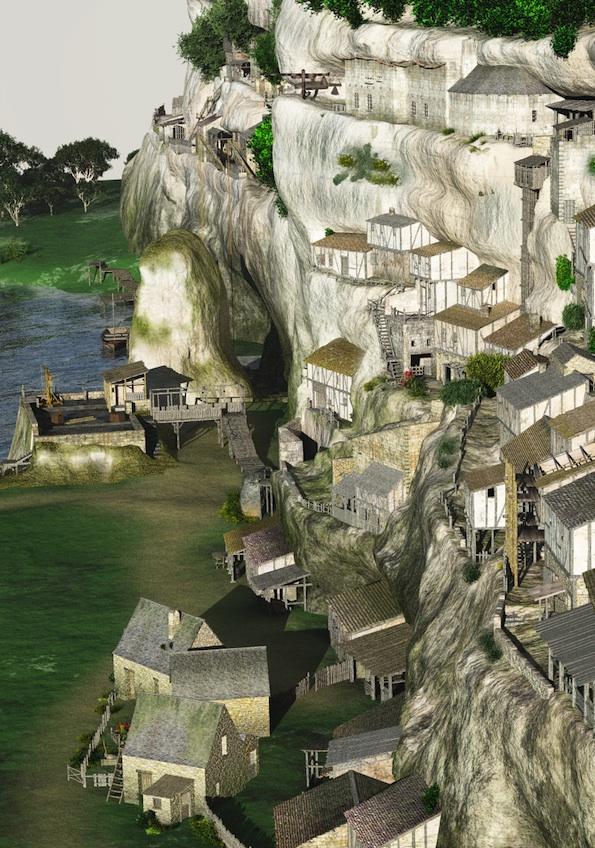 Reconstitution 3D de l'habitat