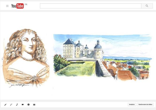 Marie de Hautefort dans son château de Hautefort