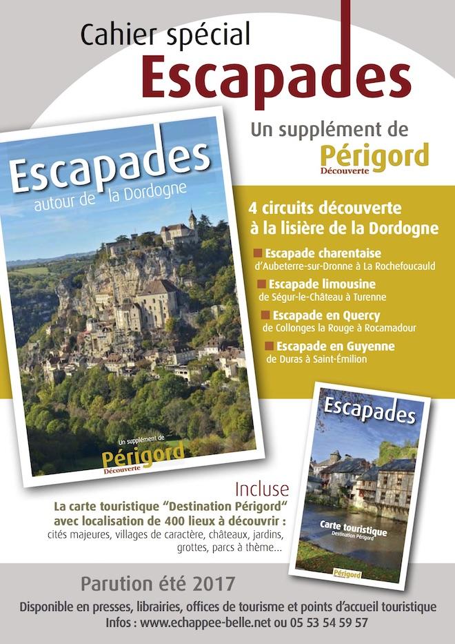 Cahier spécial Escapades autour de la Dordogne
