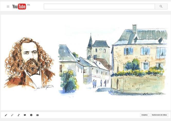Antoine de Tounens, roi d'Araucanie, dans son village natal de Tourtoirac
