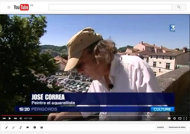 L'illustrateur José Correa et l'historienne Joëlle Chevé présente le carnet de voyage