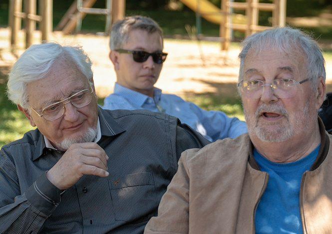 Gilles Delluc & Michel Lorblanchet (Préhistoriens) @ William Lesourd