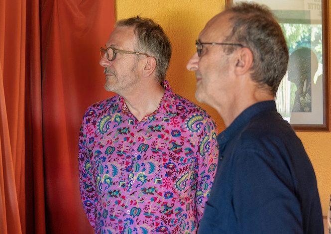Les concepteurs du film : Laurent Labeyrie & Jean-Charles Pouyot @ William Lesourd